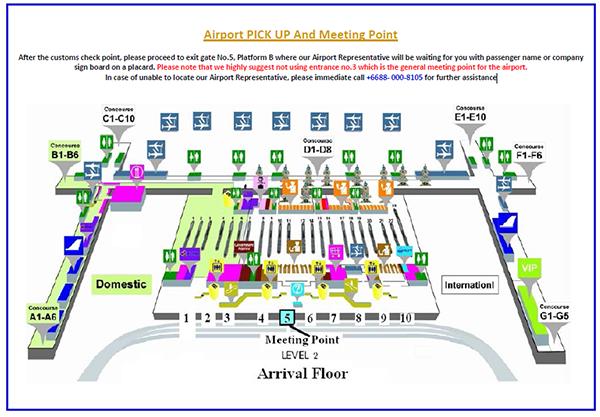 Suvarnabhumi Airport Map Pdf Untitled Document